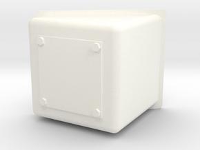 Wessex Nose Box in White Processed Versatile Plastic