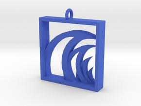 Wave Finder in Blue Processed Versatile Plastic