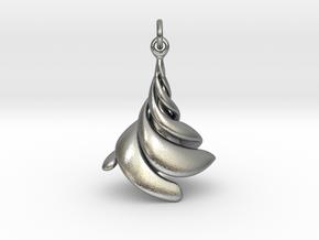 Limbe in Natural Silver (Interlocking Parts)