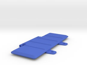Striker - Extended Battery Door V2 in Blue Processed Versatile Plastic