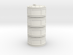 62,4x20S 4 Piece Set in White Natural Versatile Plastic
