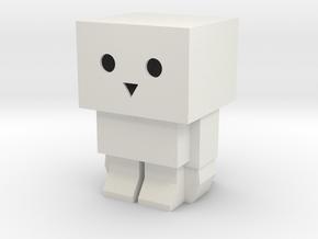 Tofubot LED Tea Light Holder in White Natural Versatile Plastic