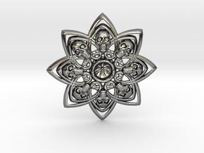 Killer Orden 01 in Fine Detail Polished Silver
