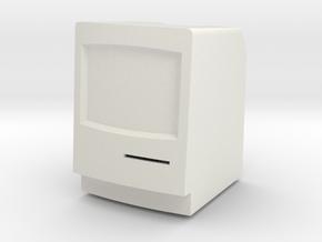 Macintosh Classic II LED Tea Light Holder in White Natural Versatile Plastic