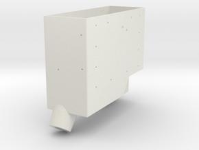 Apollo RCU Box Base in White Natural Versatile Plastic