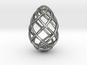 OVO Pendant Big in Natural Silver