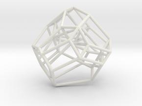Associahedron Shadows in White Natural Versatile Plastic