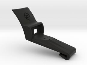 Mobius 2 Hat Mount in Black Natural Versatile Plastic