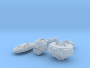MOD BOT  PART ADD-ON (SKY KNIGHT) in Smooth Fine Detail Plastic: Large