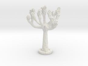 ONA04 Tree in White Natural Versatile Plastic