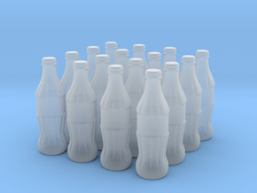 1/24 scale Cola bottles in Smoothest Fine Detail Plastic