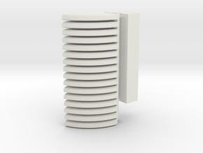 1/6 Dingo Bren Mags and Storage in White Natural Versatile Plastic