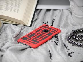 IPhone 6 3d Printed Phone Case - Ultra Slim in Red Processed Versatile Plastic
