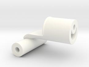 Beslag in White Processed Versatile Plastic