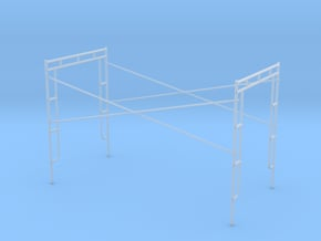 1:48 Assembly 60x120x76 in Smooth Fine Detail Plastic