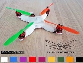 Fusion Micro ACRO Frame 114 in White Natural Versatile Plastic