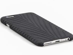 IPhone 6 Phone Case - Eagle F1 Like Tire Track in Black Natural Versatile Plastic