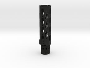 7in Ris Honey Badger in Black Natural Versatile Plastic