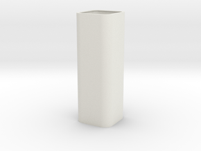 Apple USB Adapter Photon Cover in White Natural Versatile Plastic