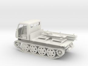 1:16 RSO/01 German Tractor in White Natural Versatile Plastic