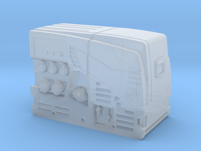 Stromerzeuger Rosenbauer RS14 in Smooth Fine Detail Plastic: 1:87 - HO