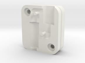 Bevel Adaptor For iPhone 7 in White Natural Versatile Plastic