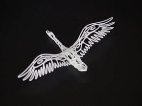 Wild Duck--pendants in White Natural Versatile Plastic
