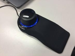 3dconnection Spacenavigator Hand Support in Black Natural Versatile Plastic