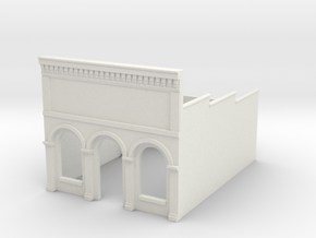 N-scale (1/160) Millie's Cafe Shell in White Natural Versatile Plastic