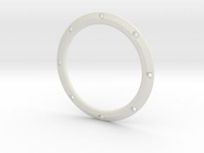 RE40 Zierring 8 Loch in White Natural Versatile Plastic