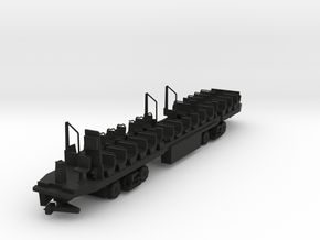 Kawasaki SE LRV Display Interior HO Gauged in Black Natural Versatile Plastic