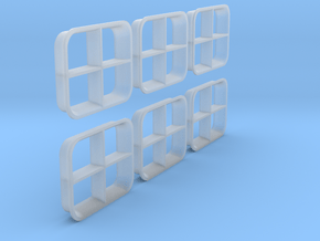 1/48 IJN Windows in Smooth Fine Detail Plastic
