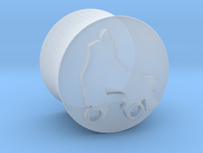 Derby plug in Smooth Fine Detail Plastic