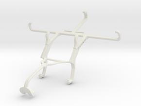 Controller mount for Xbox 360 & QMobile Noir i8 in White Natural Versatile Plastic