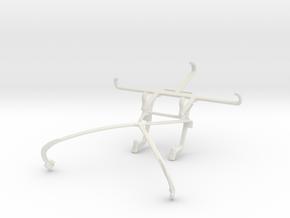 Controller mount for Shield 2015 & QMobile Noir i8 in White Natural Versatile Plastic