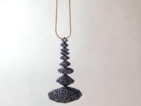 Pendant_top_mojakak in Black Natural Versatile Plastic