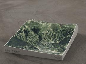 Breckenridge, Colorado, USA, 1:50000 in Full Color Sandstone