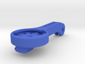 Blendr High Mount Insert with Di2 Mount in Blue Processed Versatile Plastic