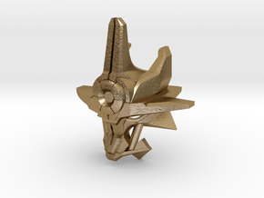 Mask Of Ultimate Power Titan Scale in Polished Gold Steel