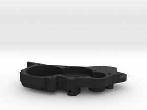 V1 TLR 22 2.0 3 Gear Lay Down Transmission  in Black Natural Versatile Plastic