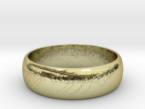 Ring Of Power in 18k Gold Plated Brass