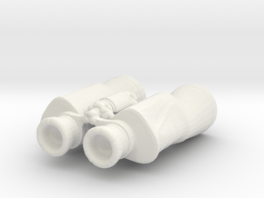 Printle Thing Jumelles - 1/24 in White Natural Versatile Plastic