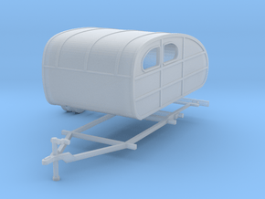 1935 Tear Drop Camper Ready For Shapeways in Smooth Fine Detail Plastic