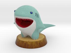 SHARKY in Full Color Sandstone