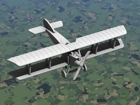 Fokker D.I in White Natural Versatile Plastic: 1:144