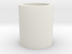 Barrel/Hop Up Spacer 14mm in White Natural Versatile Plastic