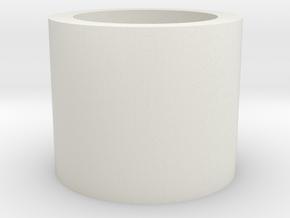 Barrel/Hop Up Spacer 10mm in White Natural Versatile Plastic