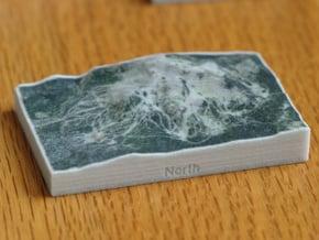 Mammoth Mtn, California, USA, 1:100000 in Full Color Sandstone