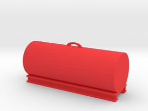 1000 Gallon Tank 1:50 Scale in Red Processed Versatile Plastic