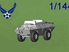 """M706 Commando USAF """"DUCK"""" in Green Processed Versatile Plastic: 1:144"""